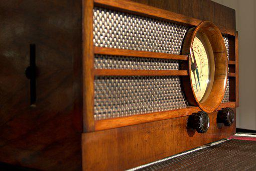 Retro, Old Radio, Air Broadcast, Model Kosmaj 49
