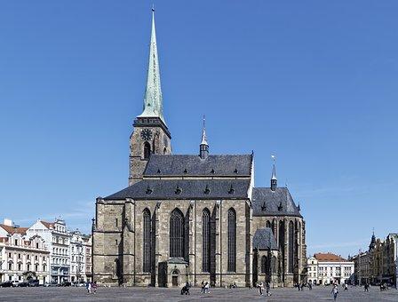 Czech Republic, Pilsen, St-bartholomew-cathedral