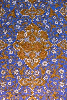 Uzbekistan, Samarkand, Mosque, Registan Square