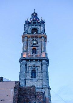 Mons, Belgium, Architecture, Wallonia, Monument, Church