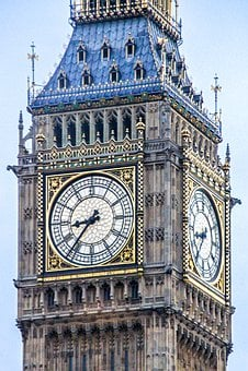 Big Ben, England, London, Clock, Tower, Landmark