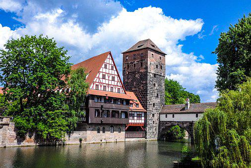 Nuremberg, Bavaria, Swiss Francs, Historic Center