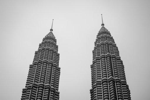 Petronas Towers, Malaysia, Kl, Petronas, City, Klcc