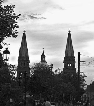 Guadalajara, Cathedral, Religion, Mexico, Architecture
