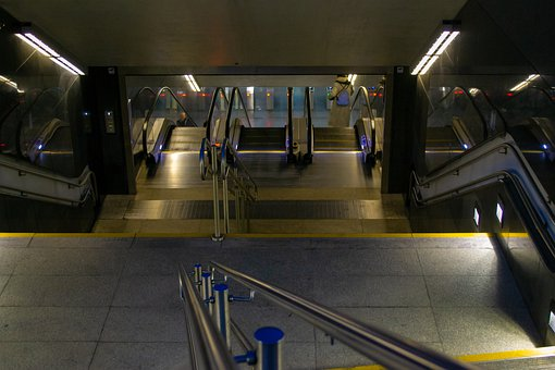 Warsaw, The Descent Into The Subway
