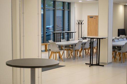 Warsaw, The Kozminski University, Table, Chairs