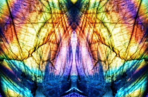 Abstract, Pattern, Color, Colorful, Mirroring