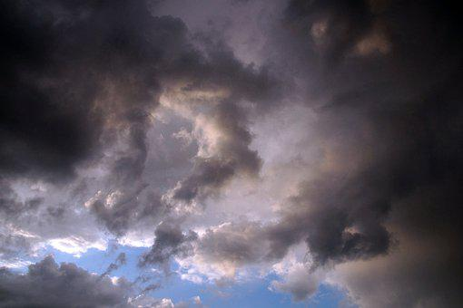 Clouds, Sky, Weather, Atmosphere, Scenic, Forward, Air