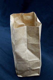 Background, Texture, Design, Paper Bag, Packaging
