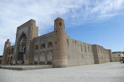 Uzbekistan, Bukhara, Architecture, Medrese, Islam
