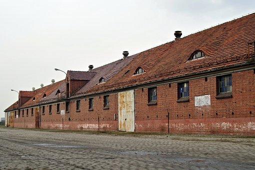 Baraki, Brick, House, Old, Camp, Garages, Military