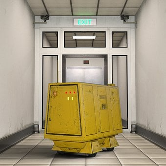Corridor, Container, Transport Vehicle, Self-propelled