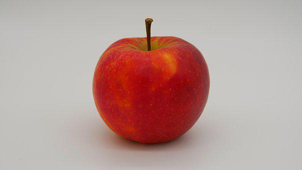 Apple, Fruit, Red, Fresh, Vitamins, Ripe, Nature