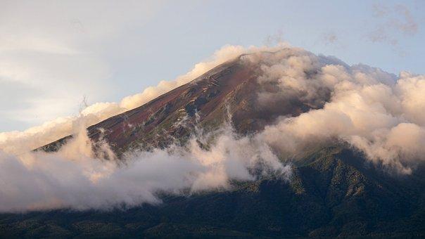 Japan, Fuji, Sunrise, Volcano, Mount Fuji, September
