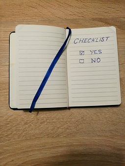 Yes, Checklist, A Check Mark, Check, Check Box, List