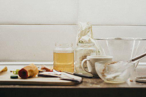Kitchen, Mess, Honey, Hungry, Baking, Gastronomy, Home