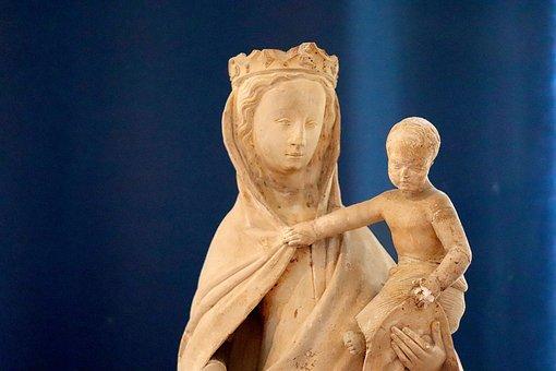 Sculpture, Stone Sculptures, Middle Ages, Medieval Art
