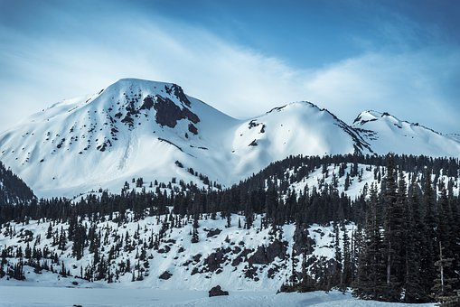 Mountains, Snow, Landscape, Mount Price, Garibaldi