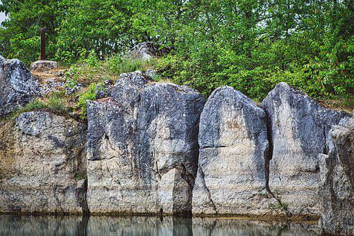 Rock Wall, Crash, Quarry, Still Life, Wall, Nature, Dry