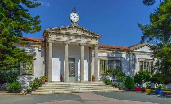Building, Old, Neoclassic, Architecture, School