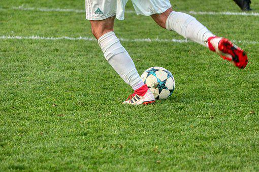 White, Ball, Football, Shoes, Sport