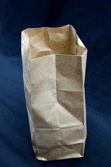 Background, Texture, Design, Paper Bag, Packaging