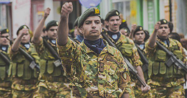 Soldier, Parade, Army, Military, Marching, Uniform