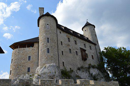 Bobolice, Castle, Crash, The Ruins Of The, Poland
