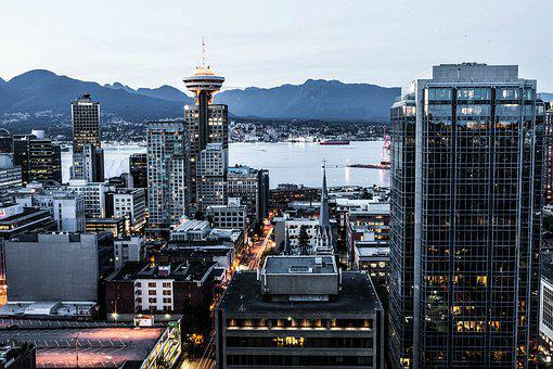 Vancouver, British Columbia, Downtown, Canada, Travel