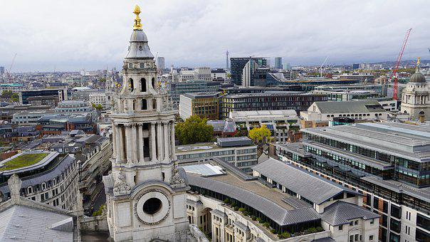 St Paul's Cathedral, Church, Cathedral, City, Building
