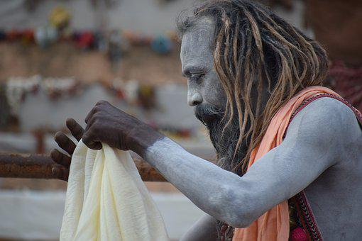 Sadhu, Varanasi, Hindu, Religion, Ganges, Sacred, Holy