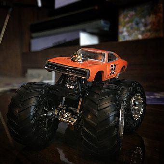 Toy, Toy Car, Monster Truck, Hot Wheels, Dodge
