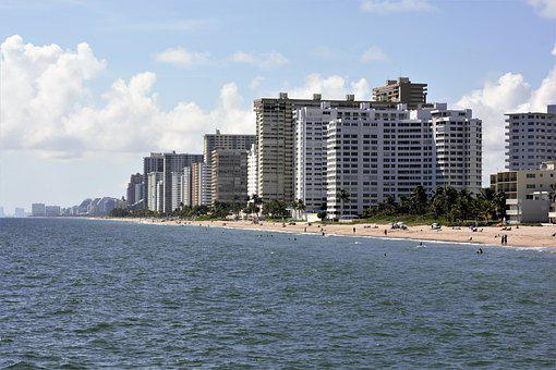 Hotels, Luxury, Coastline, Ocean, Atlantic Ocean, Water