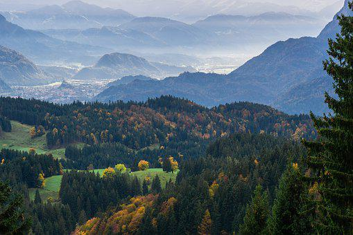 Landscape, Mountains, Panorama, Autumn, Nature