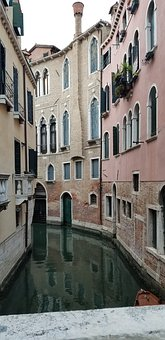 Venice, Canal, Italy, Architecture, Water, City