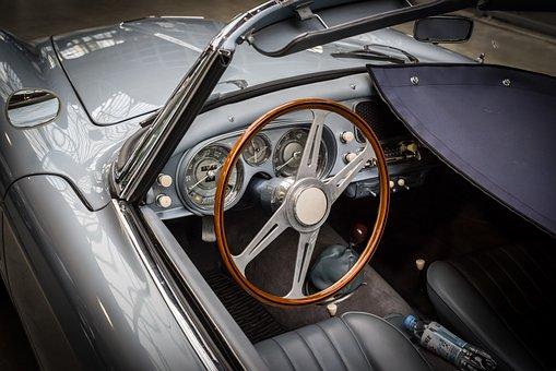 Bmw, 507, Oldtimer, Cockpit, Automotive, Steering Wheel