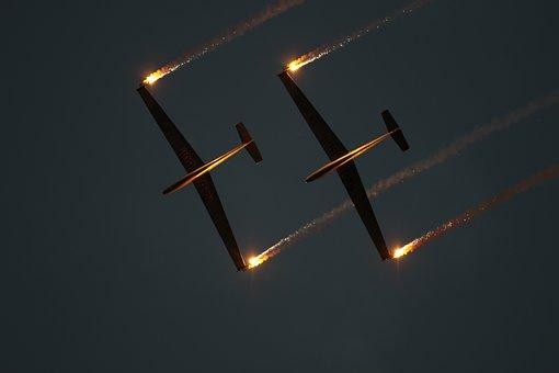 Glider, Gliding, Aerobatics, Glider Pilot, Aircraft