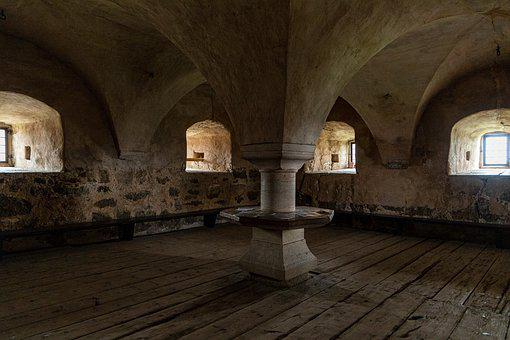 Rittersaal, Hall, Castle, Ground, Middle Ages