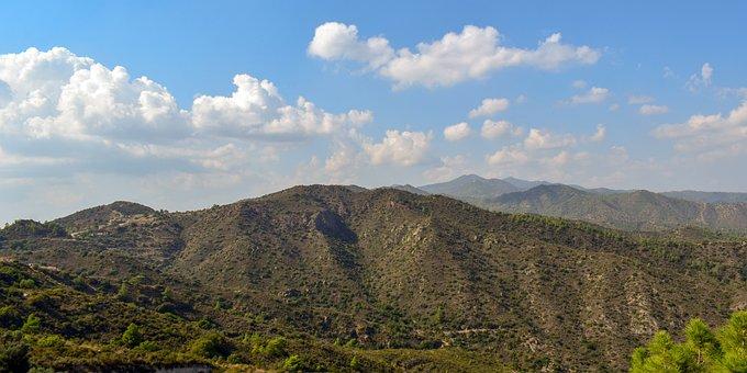 Mountains, Range, Landscape, Nature, Clouds, Sky