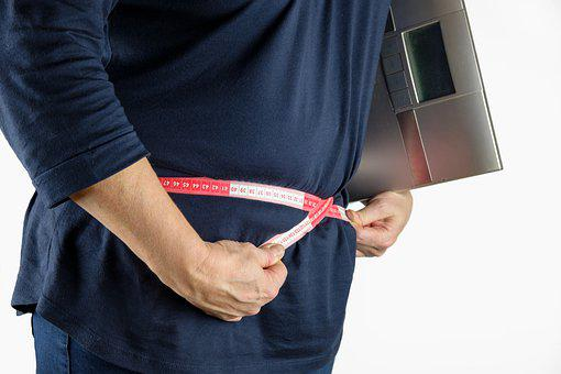 Tape Measure, Measure, Thick, Fat, Bacon, Overweight