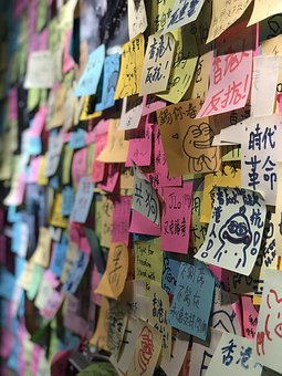 Notes, Paper, Notepad, Hong Kong
