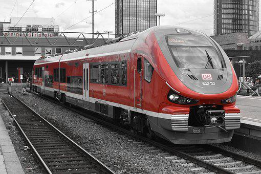 Train, Pesa Link, Zug, Rb52, Red, Blackandwhite