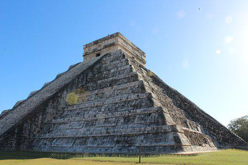 Mexico, Chichen Itza, Pyramid, Archeology, Architecture