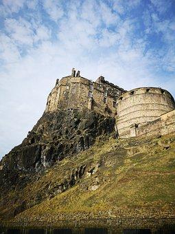 Castle, Hill, Landscape, Tourism, Old, Building, Rock