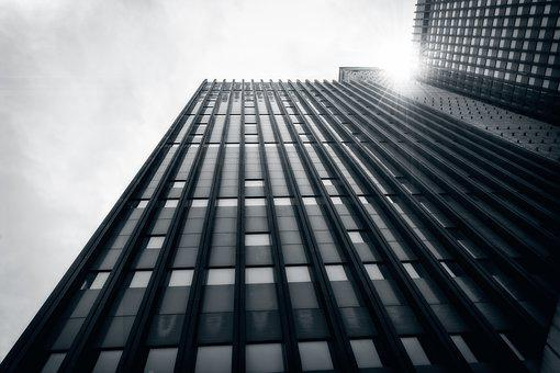 Skyscraper, Skyline, Architecture, Modern, Facade, High
