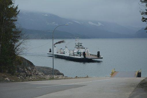 Ferry, Lake, Transportation, Trans Canada Highway