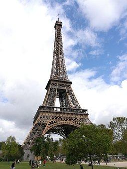 Paris, Eiffel, France, Architecture, Tower, Travel