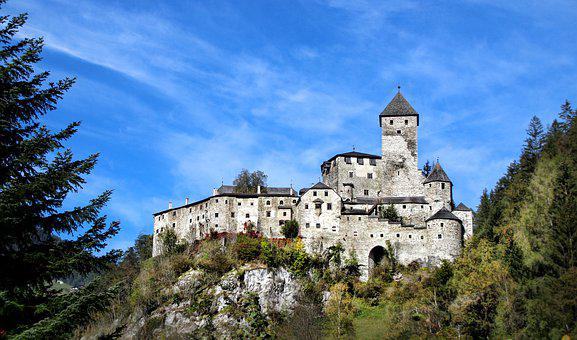 Castle, Fortress, Middle Ages, Building, Tyrol