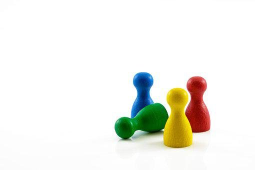 Wooden Manikin, Males, Figures, Game Characters, Play