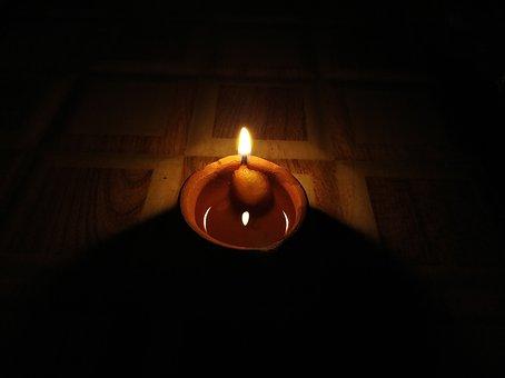 Diwali, Diya, Earthen Lamps, Lights, Deepawali